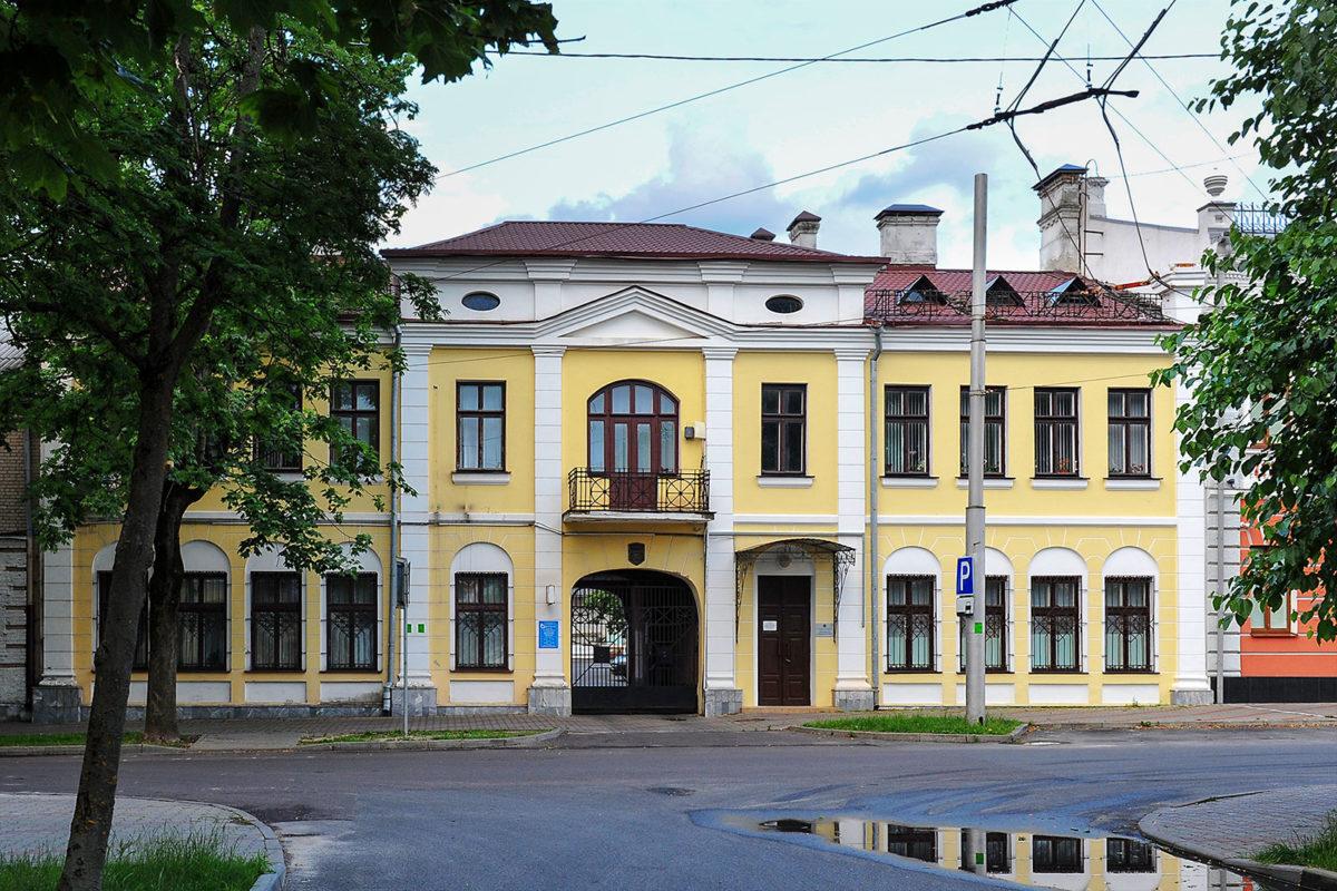 Перекресток улиц Белостокской и Театральной