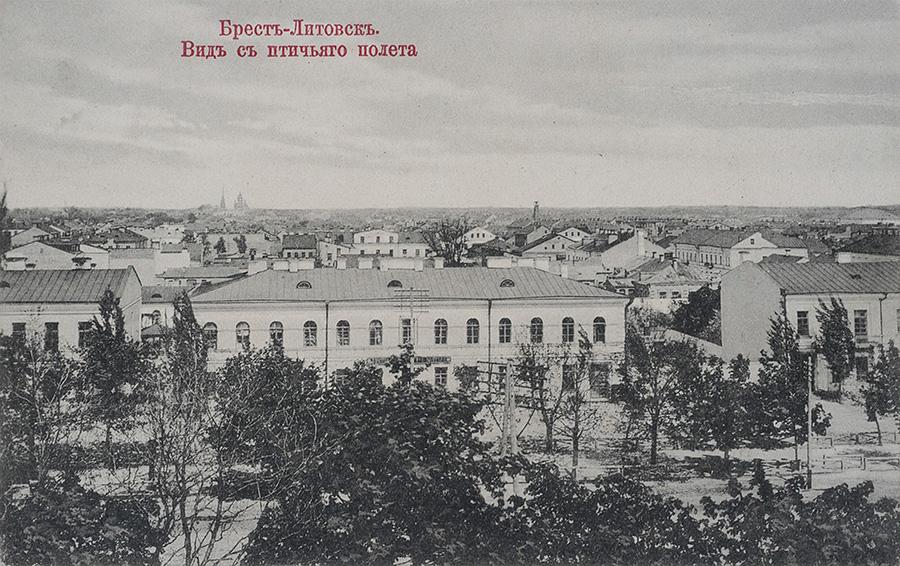 Вид на город с колокольни Свято-Симеоновскоого собора
