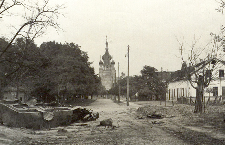 Вид на улицу Мицкевича